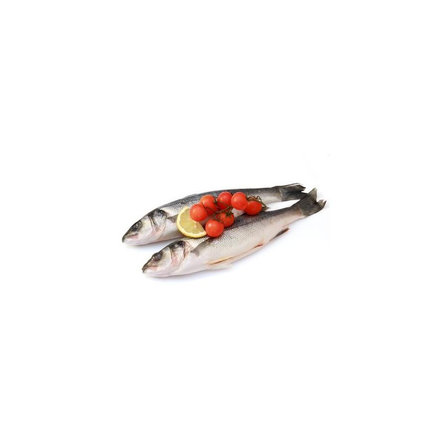 Bar vidé 200 gr lot de 2 Pièces-poisson frais