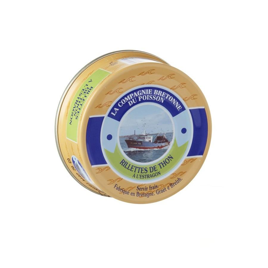 Rillettes de thon à l'estragon, Tartinable de la mer