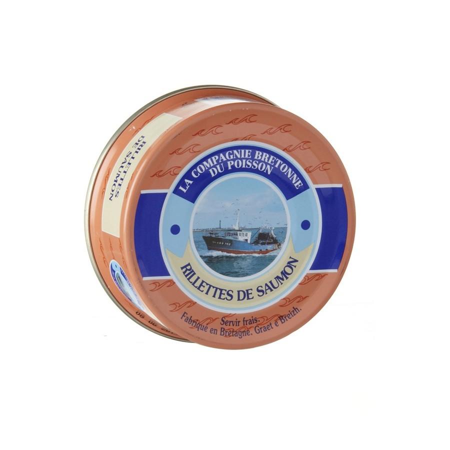 Rillettes de saumon 78 gr Poissonnerie