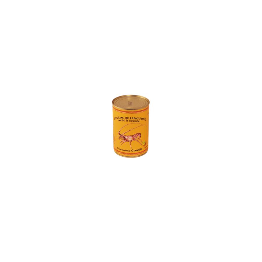 Suprême de langouste boite de 400 gr