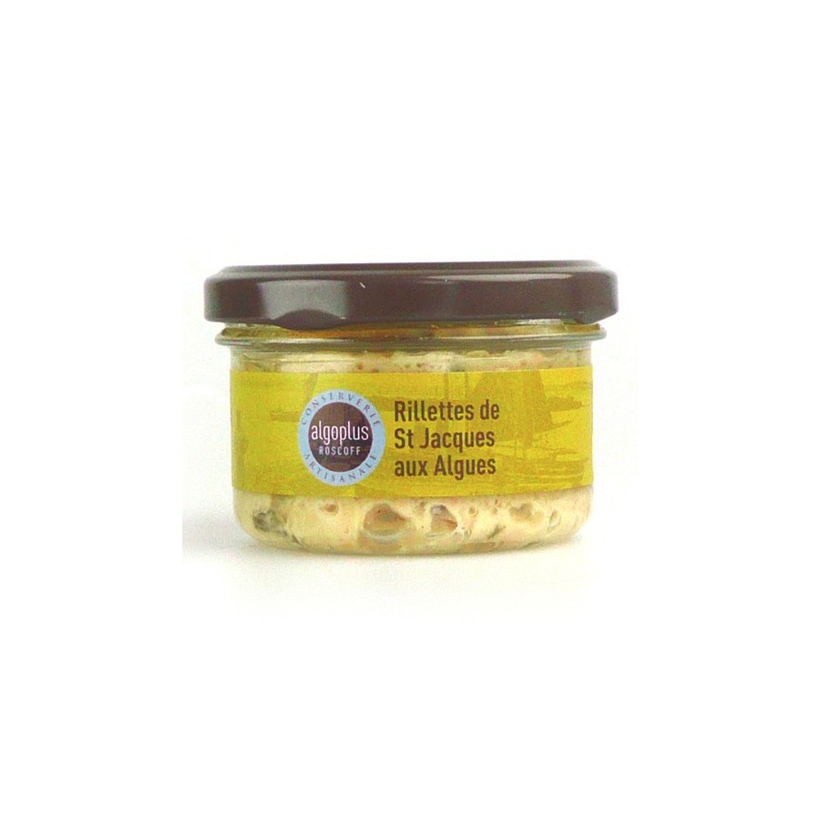 Rillettes de Saint Jacques aux algues, Verrine 90 gr