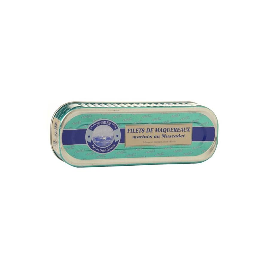 Filets de maquereaux marinés au muscadet, 176 gr