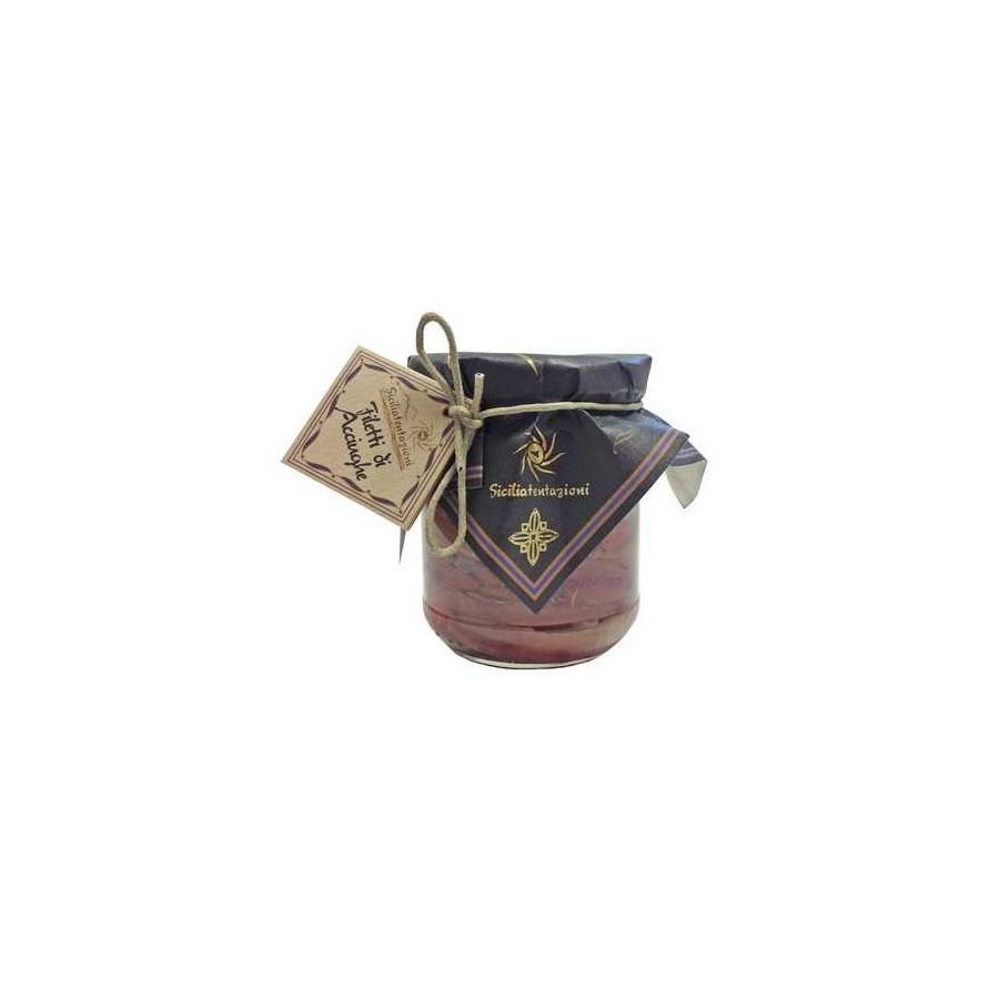 Anchois à l'huile d'olive 200 gr Sicilia Tentazioni