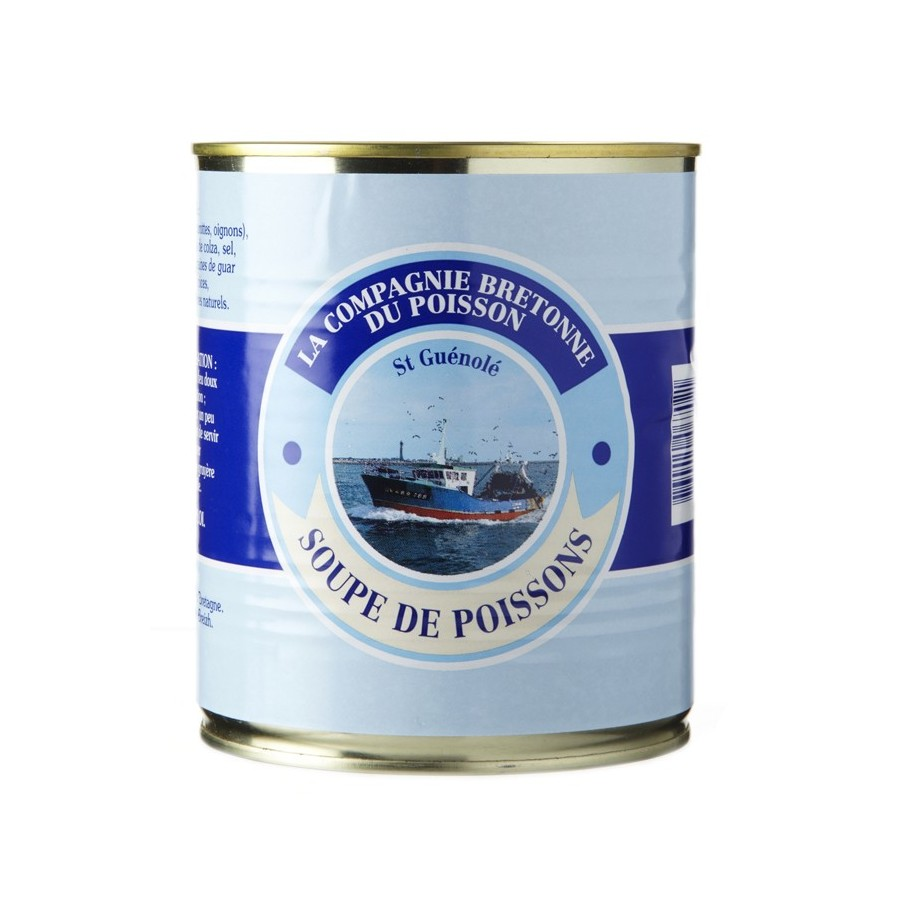 Soupe de poissons traditionnelle, Boîte 808 gr