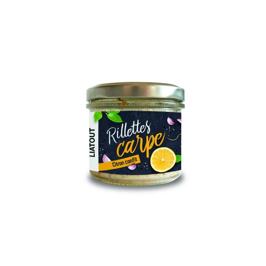 Rillettes de Carpe aux citrons confits 90 gr