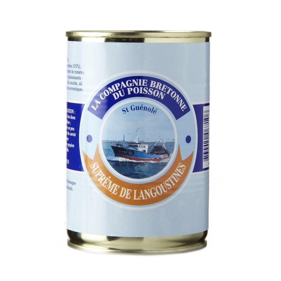 supreme de langoustine issu de poisson frais bretons
