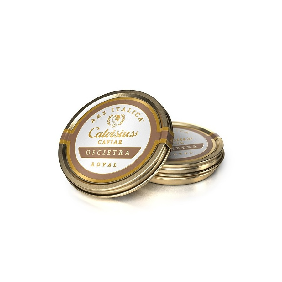 Caviar Calvisius Oscietre Royal-poissonnerie