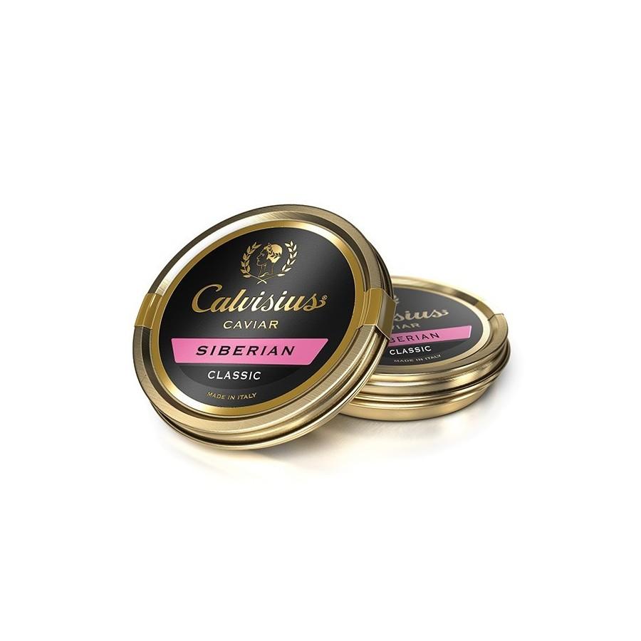 Caviar Calvisius Siberian classic-vente caviar