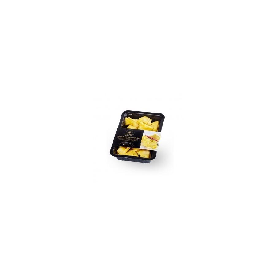 Ravioli d'esturgeon et Caviar Calvisius 250 gr