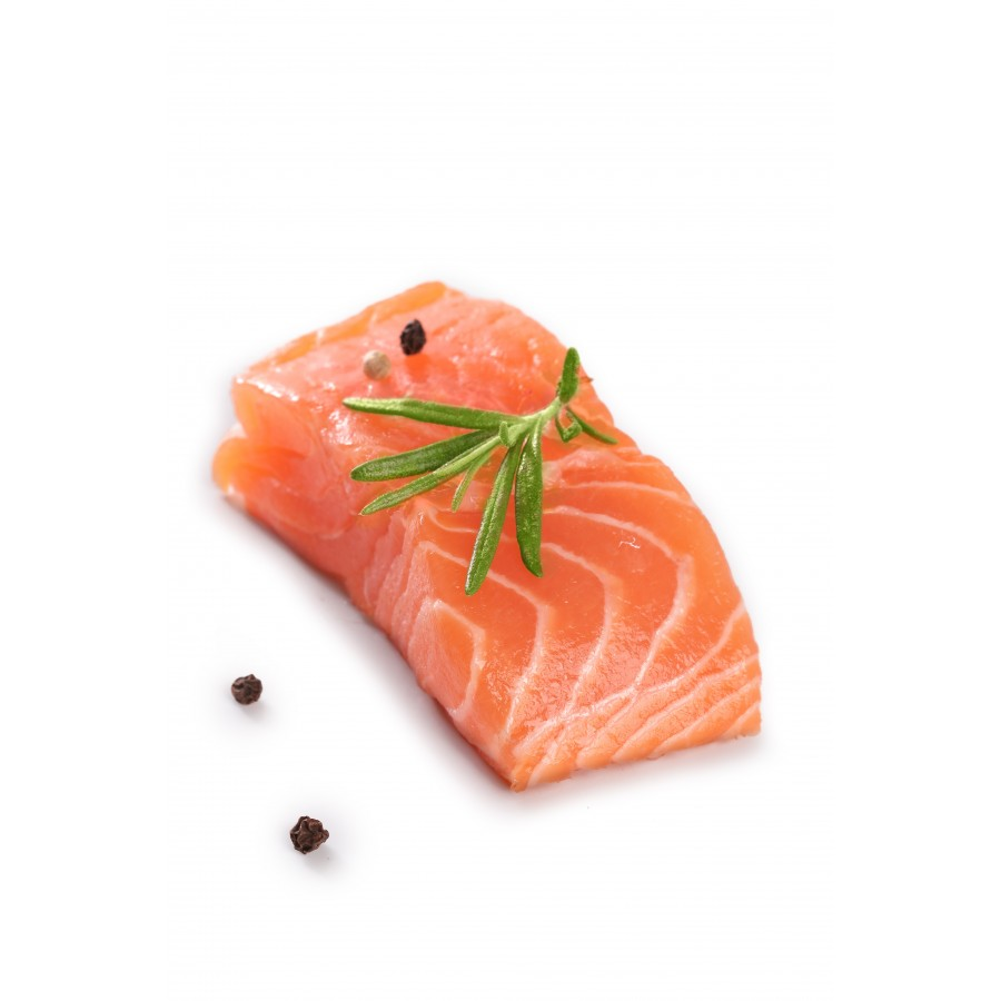 Pavé de saumon colis de 20 pièces sous vide (Salmo salar)