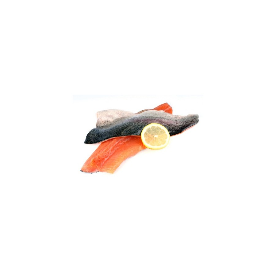 Filet de truite saumonée lot de 1 kg-poissonnerie