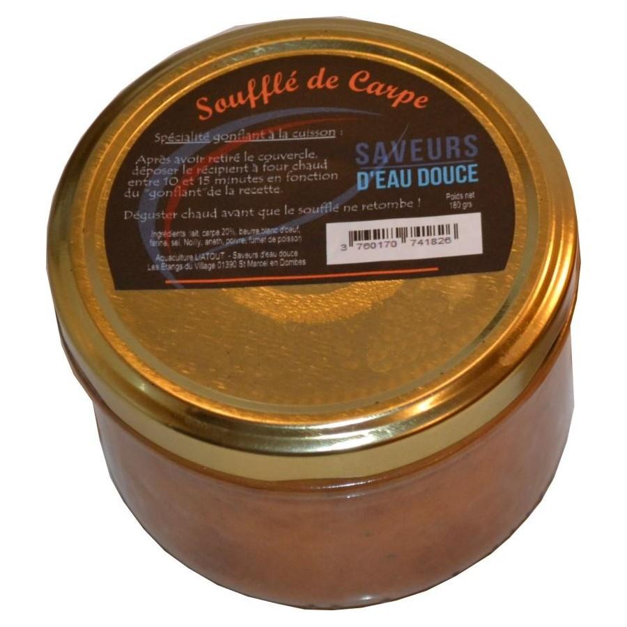 Soufflé de Carpe pot de180 grs